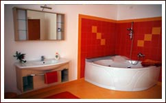 Private bathroom at the Bed Breakfast MarcoLaura - Bergamo